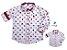 Kit camisa Meu Mickey - Tal pai, tal filho (duas peças) | Personalize com as inicias dos nomes - Imagem 1