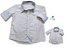 Kit Camisa Alec - Tal mãe, tal filho  (duas peças) | Poá Bege - Imagem 2