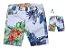 Kit Bermuda Vicente - Pai e filho  | Floral - Imagem 1