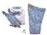 Conjunto Fausto - Calça Alfaiataria Linho, camisa e acessórios (4 peças) | Linho Azul Claro - Imagem 1