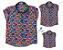Kit camisa Alberto - Família (trêss peças) | Fundo do mar  - Imagem 1