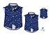 Kit camisa Bruno - Família (três peças) | Fundo do mar - Imagem 1