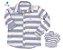 Kit camisa Matheus - Tal pai, tal filho (duas peças) | Linho - Imagem 1