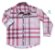 Camisa Rafael - Xadrez Rosa - Imagem 1