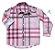 Camisa Rafael - Adulta | Xadrez Rosa - Imagem 1