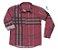 Camisa Rafael - Adulta |Xadrez Vermelha - Imagem 1