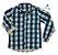 Camisa Tom - Xadrez Verde e bege | Fazendinha - Imagem 2