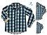 Kit camisa Tom  - Verde | Família (três peças) | Manga Longa | Fazendinha | Hulk - Imagem 1