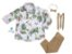 Conjunto Beto - Camisa Dino e Calça Bege (quatro peças) | Dino - Imagem 1