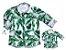 Kit camisa Dado - Tal pai, tal filho (duas peças) | Folhas - Imagem 1