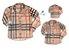 Kit camisa Rafael - Família (três peças) | Manga Longa | Xadrez - Imagem 1