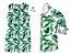 Conjunto Dado  - Mãe e filho | Vestido e camisa |  Folhas - Imagem 1