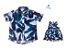 Kit camisa Noah e vestido Nati - Tal pai, tal filha (duas peças) | Folhas - Imagem 1
