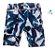 Bermuda Noah - Azul Folhas (Adulto) - Imagem 1