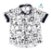 Conjunto Mickey - Camisa e Bermuda preta (quatro peças) | - Imagem 3