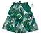 Saia Midi Luke - Verde| Adulto | Folhas   | Viscolinho | Lala - Imagem 1