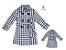 Kit Trench Coat Nina - Tal mãe, tal filha  (duas peças) - Imagem 1