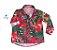 Camisa Dom -   Folhas Vermelha | Safari |  - Imagem 1