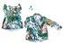 Conjunto Dai e Dom - Vestido e Camisa | Folhas | Praia - Imagem 1