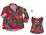 Kit camisa John e vestido Joana - Tal pai, tal filha (duas peças) - Imagem 1