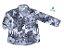Camisa Giuseppe -   Folhas cinza | Safari | Surf - Imagem 1