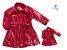 Kit Trench Coat - vermelho - Tal mãe, tal filha  (duas peças) - Imagem 1