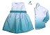 Conjunto Enzo e Iza - Vestido e Camisa | verde tie dye | Irmãos - Imagem 1