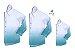 Kit camisa Enzo  - Verde Tie Dye | Família (três peças) | Manga Longa  - Imagem 1