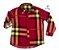 Kit camisa Olavo - Família (três peças) | Xadrez Vermelho - Imagem 2