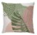 Capa de Almofada Neo Costela Verde e Rose - Imagem 1