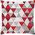 Capa Almofada Delta Vermelha - Imagem 1