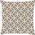 Capa de Almofada Círculo Estrela Bege - Imagem 1