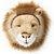 Cabeça Decorativa Leão Wild & Soft ® - Imagem 1