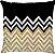 Capa de Almofada Chevron Gold - Imagem 1