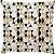 Capa de Almofada Mini Delta Gold - Imagem 1