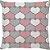Capa de Almofada Love Hearts - Imagem 1