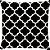 Capa de Almofada Treliça Preta - Imagem 1