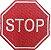 PLACA STOP - Imagem 1