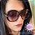 Óculos de Sol Tom Ford Redondo Preto FT038801 GISELLA  - Imagem 3