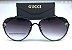 Óculos Aviador  Gucci Preto   - Imagem 1
