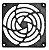 Ventilador Cooler com Grade de Proteção 120x120x38mm  110/220v Chocadeiras - Imagem 2