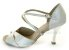 Sandália para Dança de Salão Prata Cromado - Imagem 2