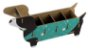 Organizador de Mesa (porta treco) Cachorro Basset - Imagem 2