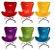 Cadeira Miniatura Decorativa - Design Color Pantone 173C - Imagem 1