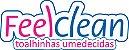 Lenços Umedecidos FeelClean Recém-nascido 50 unidades - Imagem 2