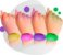 Pulseira De Biossegurança Ácool gel Silicone - Imagem 3