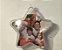 Bola de natal acrilica modelo estrela com Glitter - personalizavel. 6.5 cm Pct 10un - Imagem 4