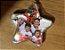 Bola de natal acrilica modelo estrela com Glitter - personalizavel. 6.5 cm Pct 10un - Imagem 3