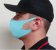 5 Máscara Facial Neoprene Adulto - Azul Bebê - Imagem 2
