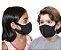 Máscara Facial Neoprene Infantil - Preto - Imagem 1